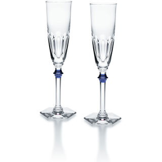 HARCOURT EVE FLUTE, Clear & blue
