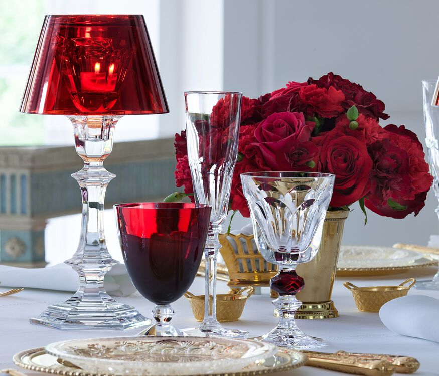 HARCOURT OUR FIRE CANDLESTICK, Red - 2