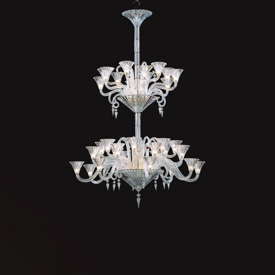 MILLE NUITS CHANDELIER  Clear