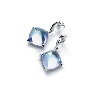 MÉDICIS EARRINGS  Aqua mirror