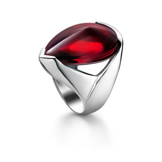 PSYDÉLIC RING  Iridescent red