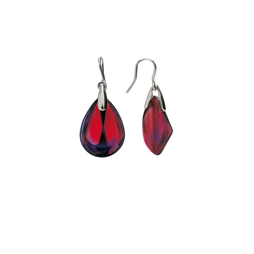 PSYDÉLIC EARRINGS  Iridescent red - 2