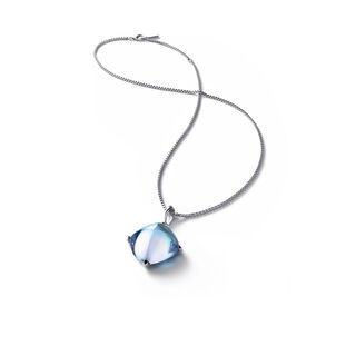 MÉDICIS NECKLACE  Aqua mirror Image