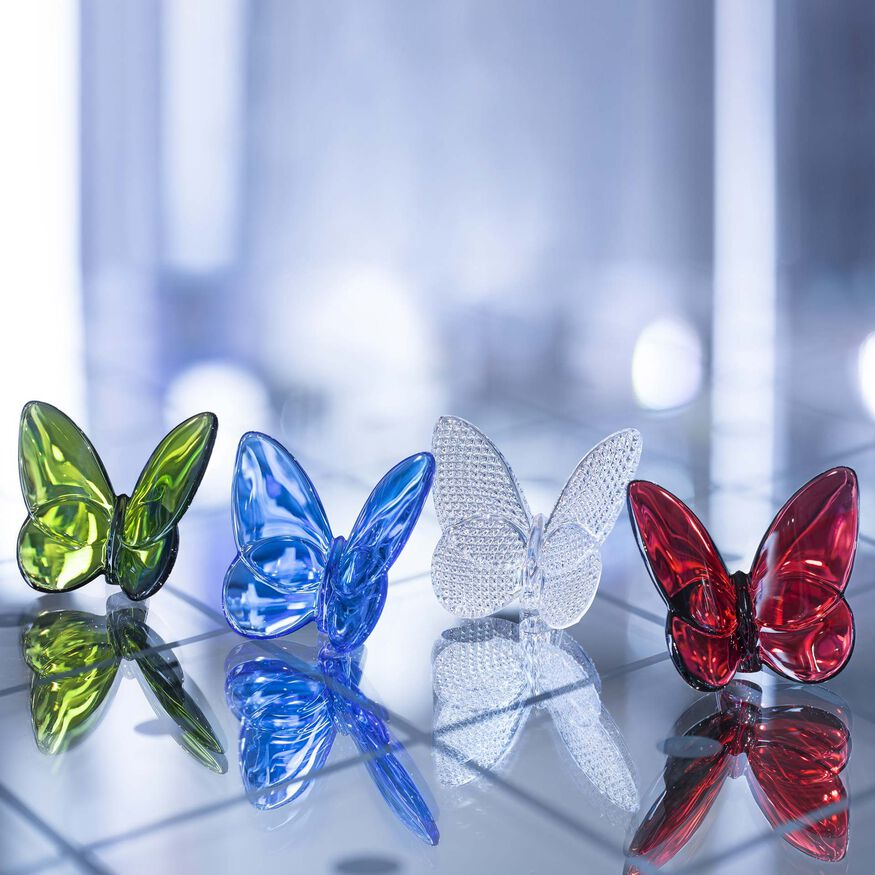 PAPILLON LUCKY BUTTERFLY  Red - 3