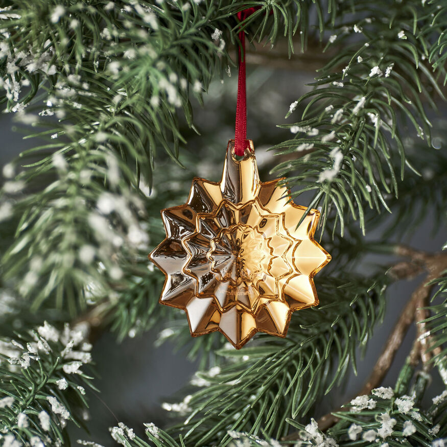 CHRISTMAS ANNUAL ORNAMENT ENGRAVED 'NOËL 2019', Gold - 2