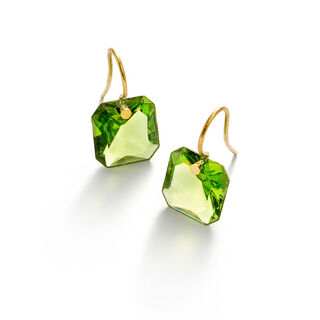 BACCARAT PAR MARIE-HÉLÈNE DE TAILLAC EARRINGS  Green
