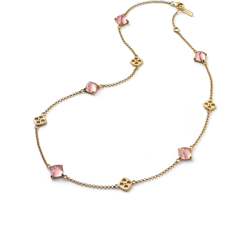 MINI MÉDICIS NECKLACE  Pink