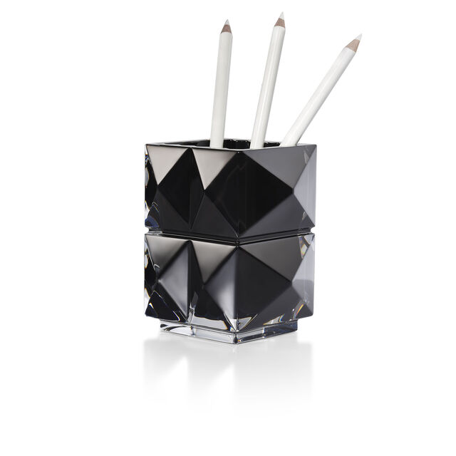LOUXOR PENCIL HOLDER, Black