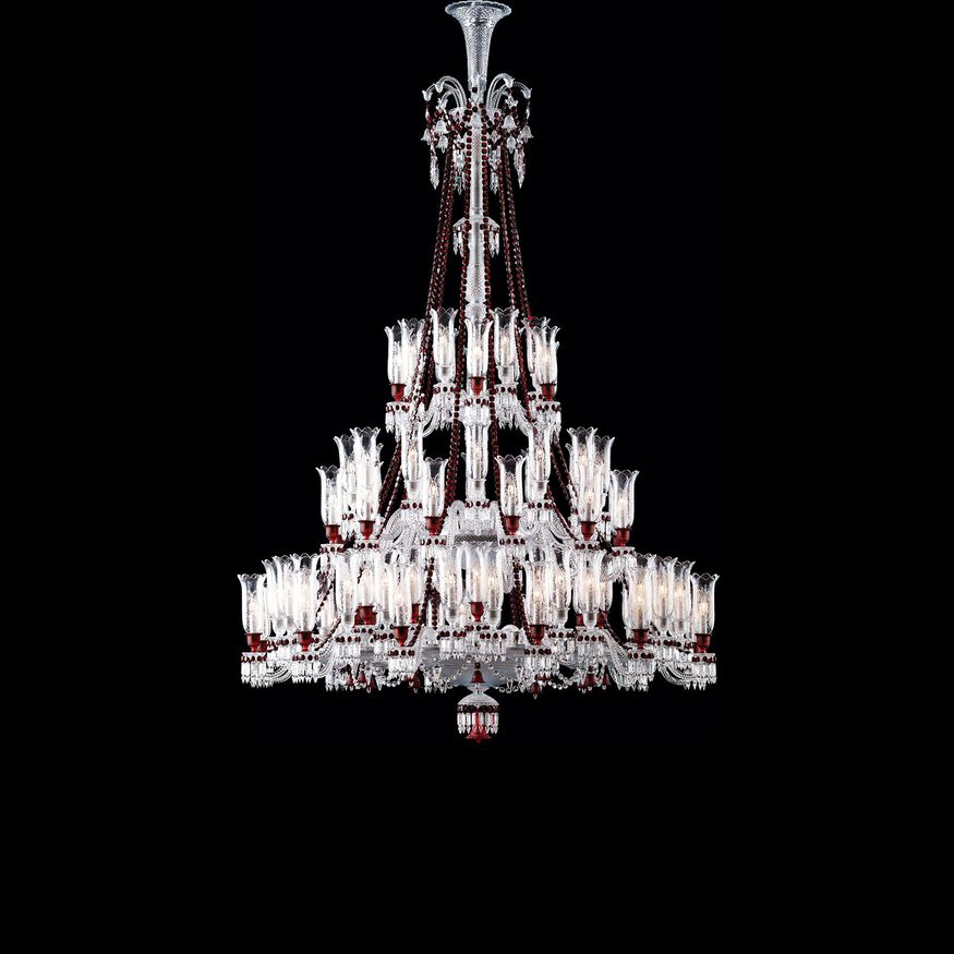 ZÉNITH RED CHANDELIER,