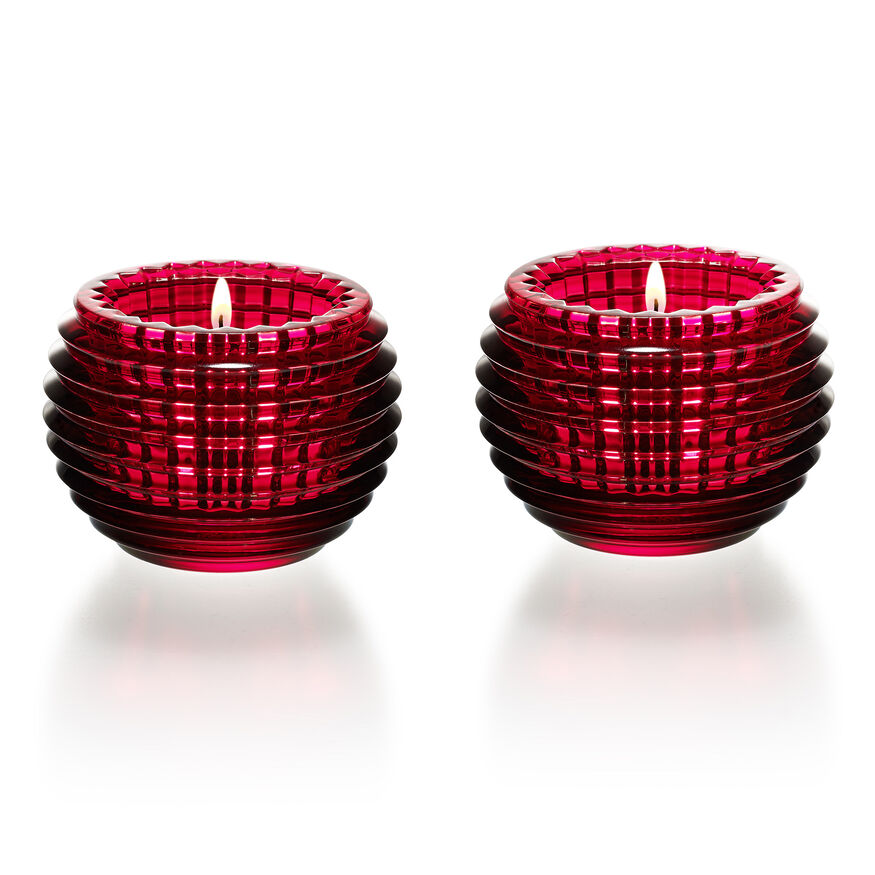 EYE VOTIVE  Red