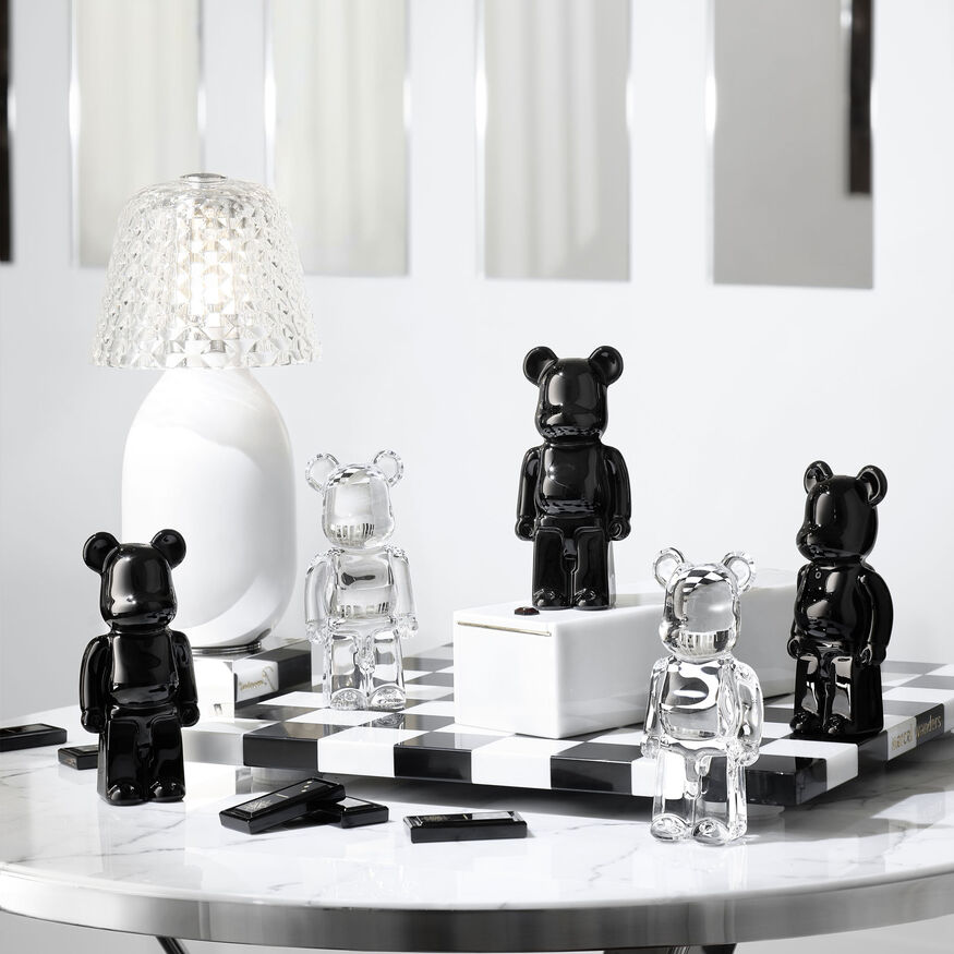 BACCARAT BE@RBRICK, Clear - 2