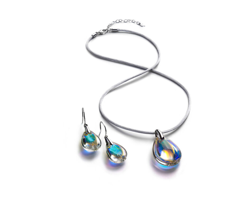 PSYDÉLIC EARRINGS, Iridescent clear - 2