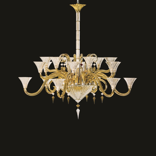 MILLE NUITS GOLD CHANDELIER,