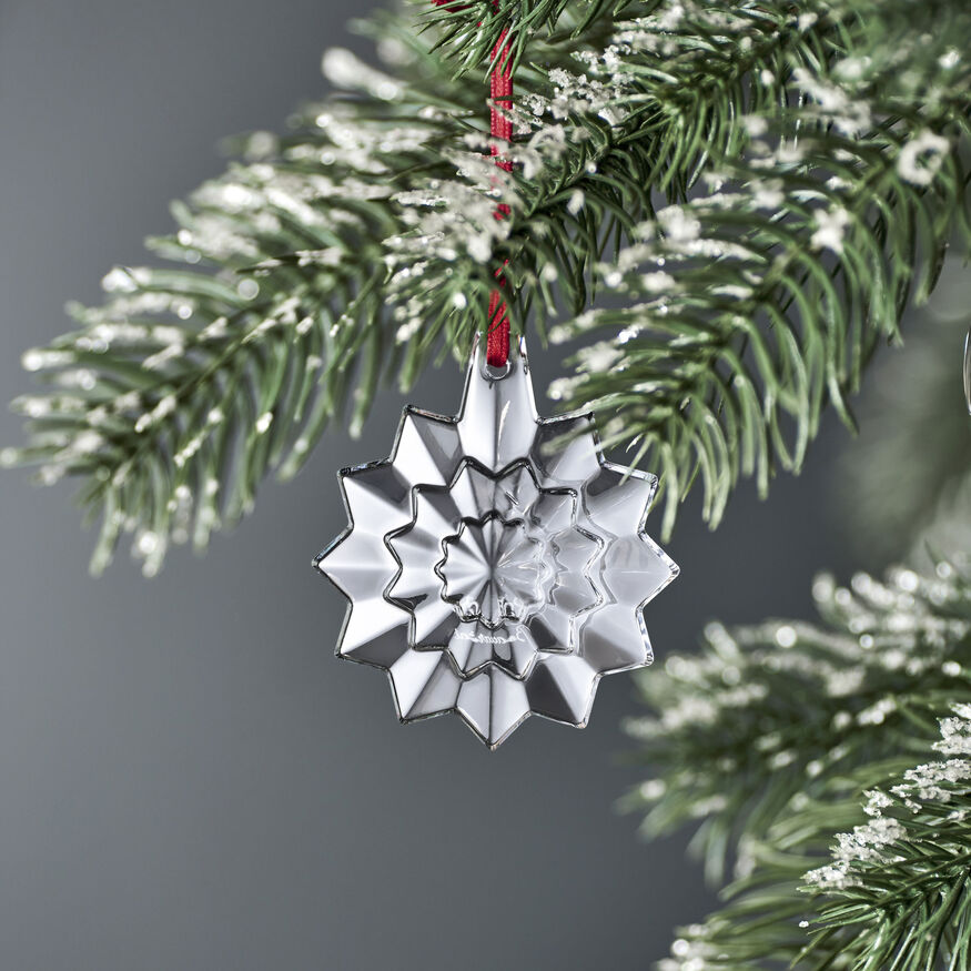 CHRISTMAS ANNUAL ORNAMENT ENGRAVED 'NOËL 2019', Clear - 3