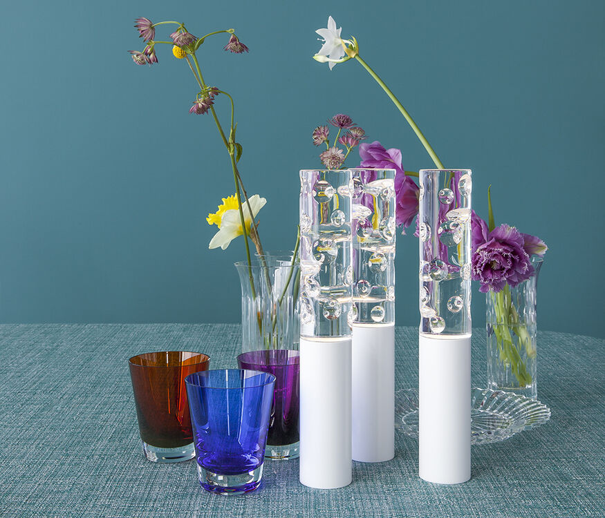 JARDIN DE CRISTAL JALLUM VOTIVES, White - 2