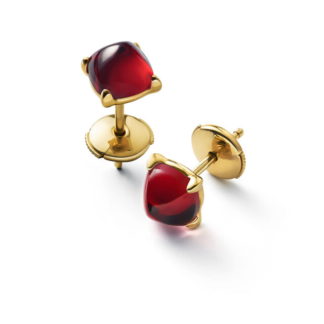 MINI MÉDICIS EARRINGS, Red