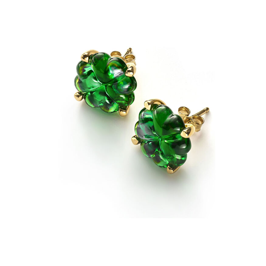 TRÈFLE EARRINGS, Green