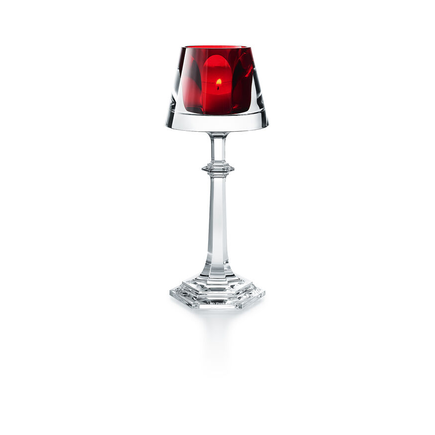 HARCOURT MY FIRE CANDLESTICK RED,