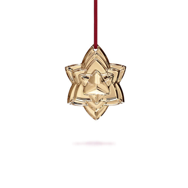christmas annual ornament engraved noël 2018 baccarat