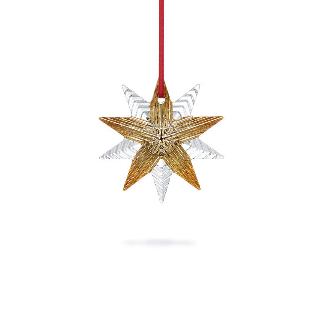 NOEL ANNUAL ORNAMENT 2021, Clear & gold