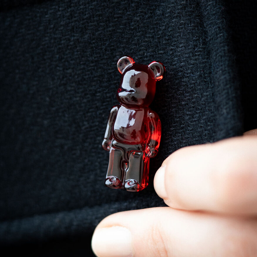 BACCARAT BE@RBRICK PINS, Red - 2