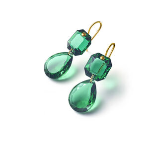 CRYSTAL DROPS OF COLOR BACCARAT PAR MARIE-HÉLÈNE DE TAILLAC EARRINGS  Green