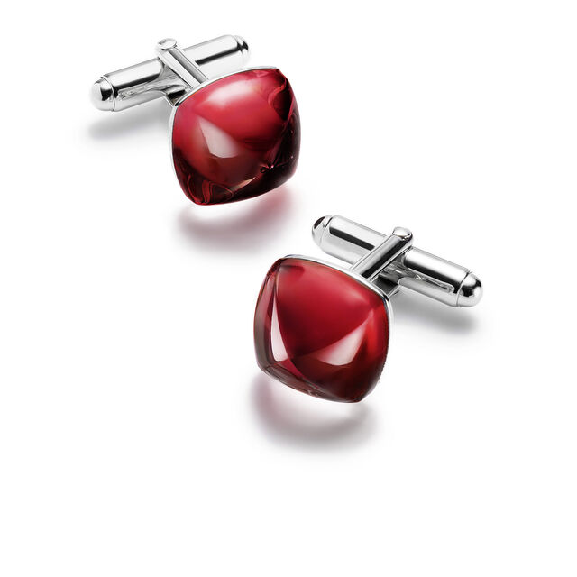 MÉDICIS CUFFLINKS, Red mirror
