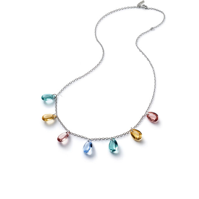 CRYSTAL DROPS OF COLOR BACCARAT PAR MARIE-HÉLÈNE DE TAILLAC NECKLACE,