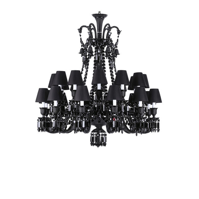 ZÉNITH BLACK CHANDELIER,