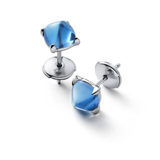 MINI MÉDICIS EARRINGS, Riviera blue