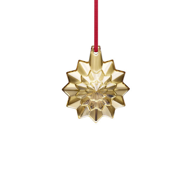CHRISTMAS ANNUAL ORNAMENT ENGRAVED 'NOËL 2019', Gold