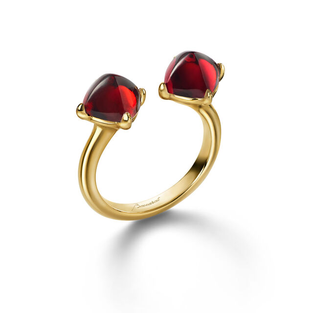 MINI MÉDICIS TOI&MOI RING, Red