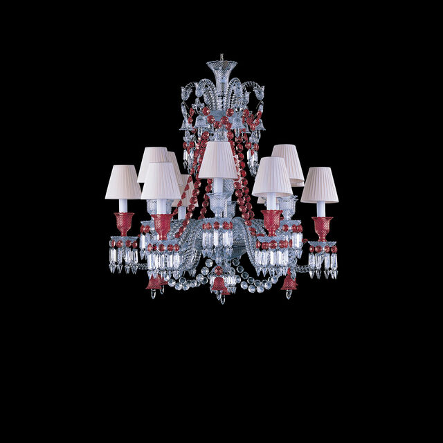 ZÉNITH RED CHANDELIER