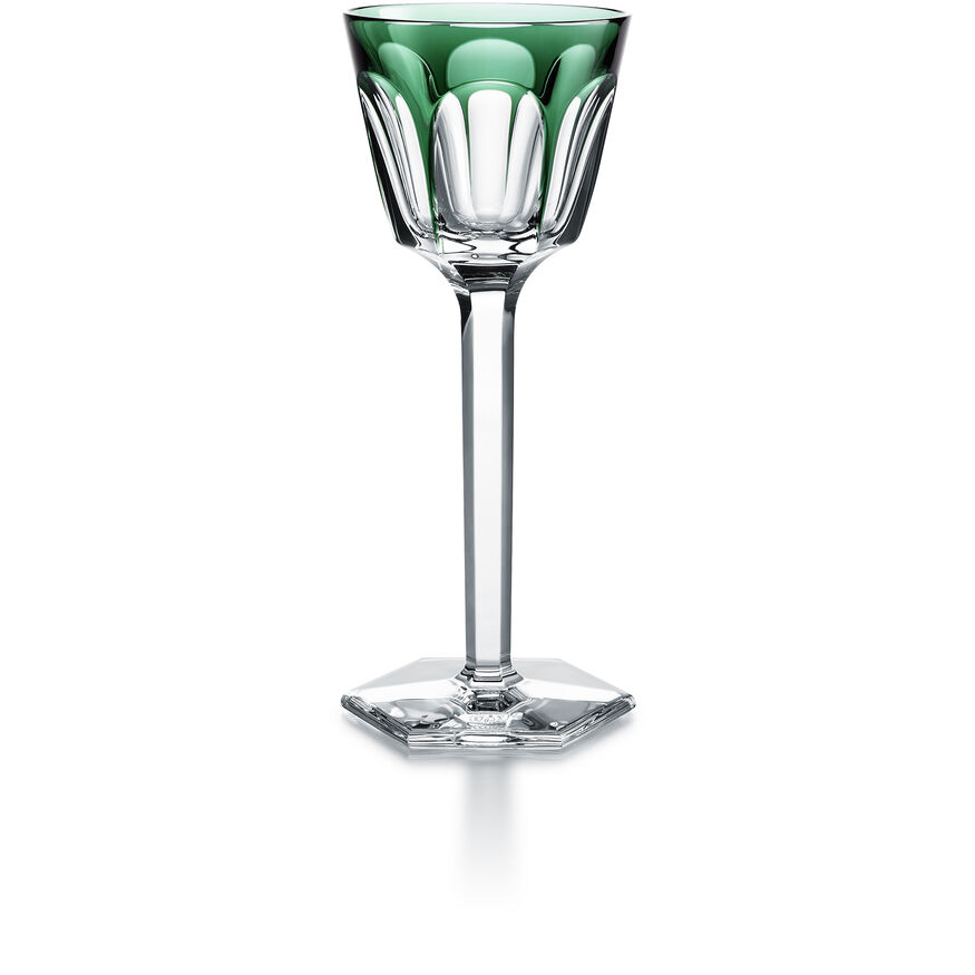 HARCOURT WINE RHINE GLASS  Dark green