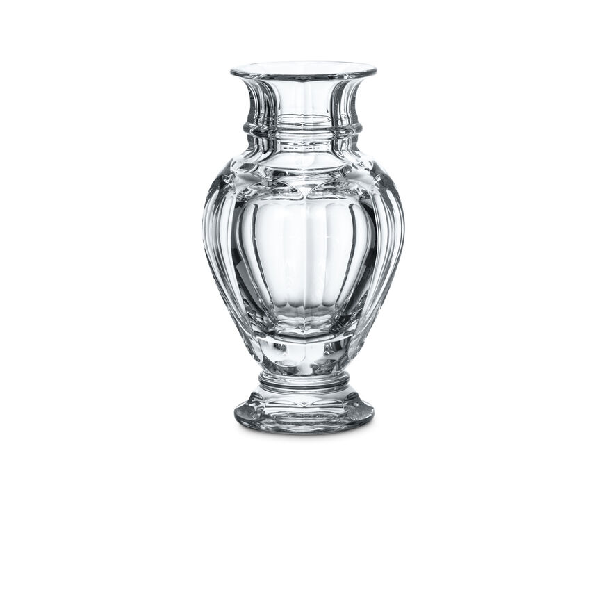HARCOURT BALUSTRE VASE  Clear