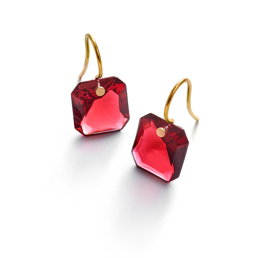 BACCARAT PAR MARIE-HÉLÈNE DE TAILLAC EARRINGS  Red - 1