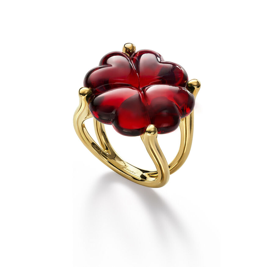 TRÈFLE RING, Red