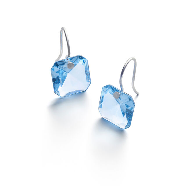 BACCARAT PAR MARIE-HÉLÈNE DE TAILLAC EARRINGS, Light blue