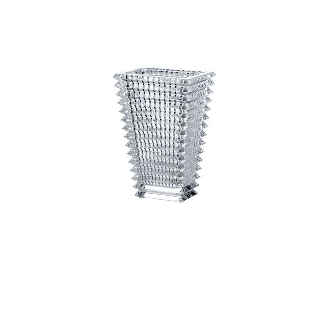 EYE VASE RECTANGULAR S, Clear