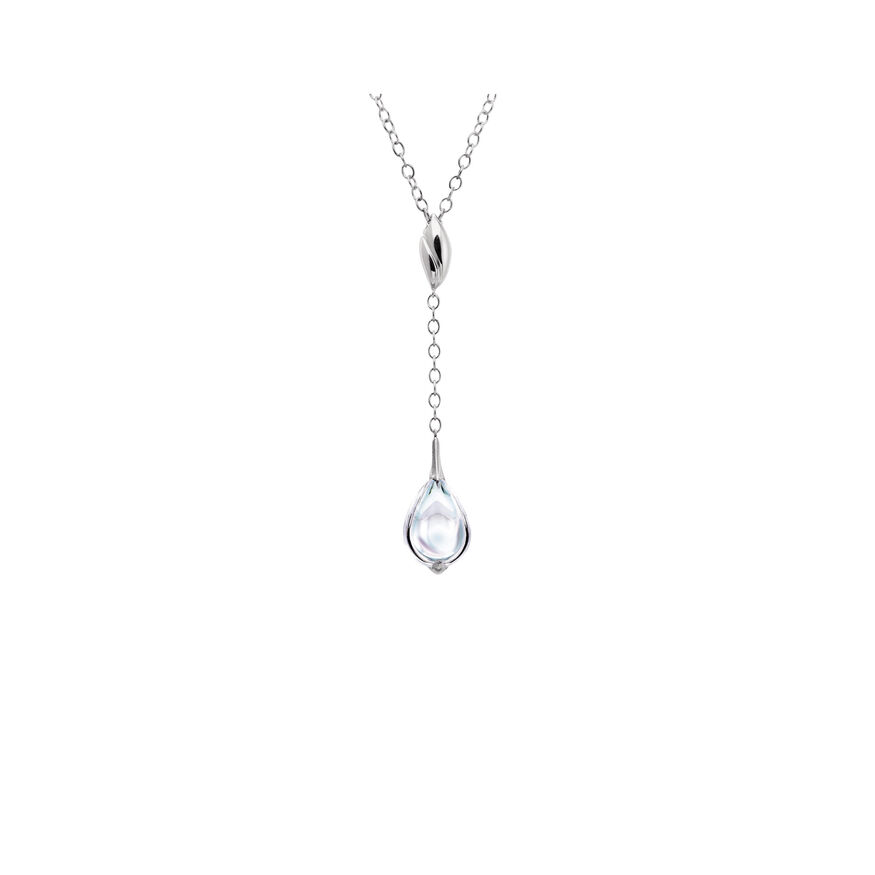 FLEURS DE PSYDÉLIC NECKLACE, Mirror clear - 2