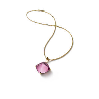 MÉDICIS NECKLACE  Pink mirror Image
