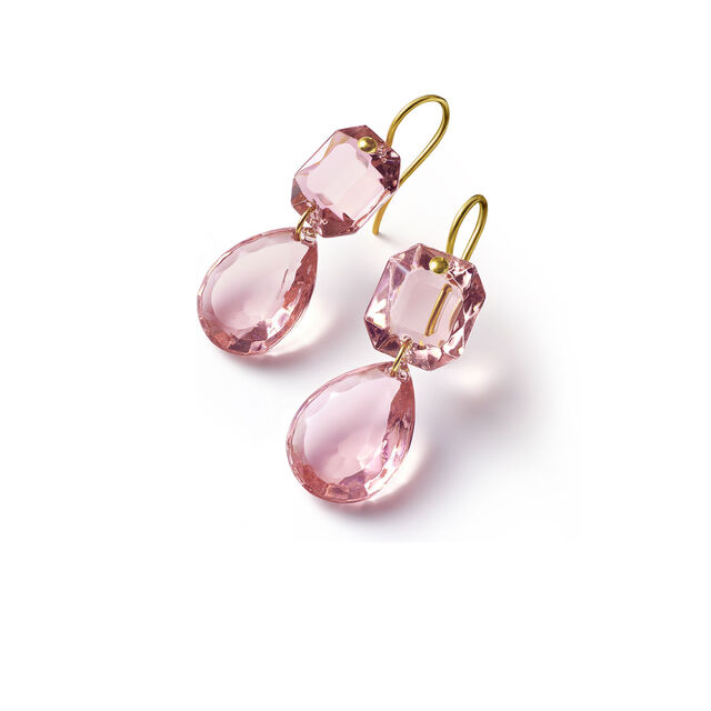 CRYSTAL DROPS OF COLOR BACCARAT PAR MARIE-HÉLÈNE DE TAILLAC EARRINGS,